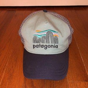 Women's trucker style Patagonia hat